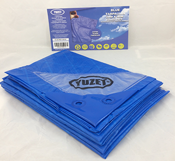 Tarpaulins available in Green, Blue & Camouflage - Yuzet